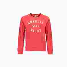 Street Called Madison: Charlie Raglan Sweater Red